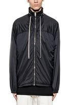 Drkshdw Black Windbreaker Hooded Jacket