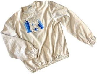 Hermes Beige Cotton Knitwear for Women Vintage