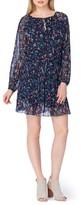 Tahari Women's Floral Drop Waist Dress