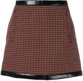 Philosophy Di Lorenzo Serafini contrast trim mini skirt