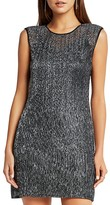 BCBGeneration Sleeveless Metallic Dress