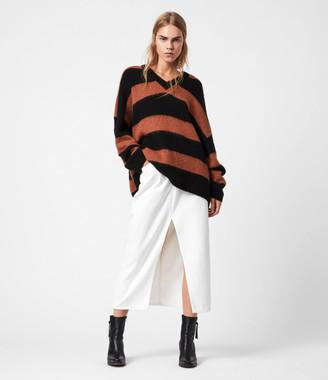 AllSaints Lou V-Neck Sweater