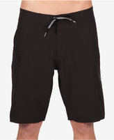 "Volcom Men's Costa Solid Graphic-print Logo 21"" Boardshorts"