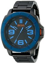 HUGO BOSS BOSS Orange Men's 1513160 Sao Paulo Black Watch with Link Bracelet