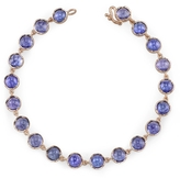 Irene Neuwirth Cabochon Tanzanite Bracelet - Rose Gold
