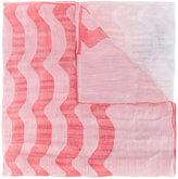 Armani Collezioni printed scarf - women - Ramie/Acetate/Silk - One Size