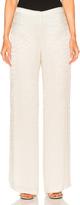 Oscar de la Renta Embellished Pant