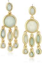 Karen Kane Baja Chandelier Gold Tone Drop Earrings