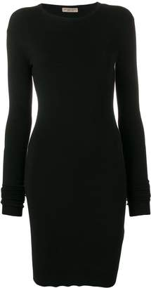 Bottega Veneta slim-fit knitted mini dress