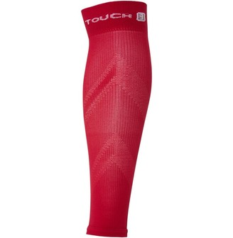 Pro Touch Unisex Running Compression Calf Sleeve Red