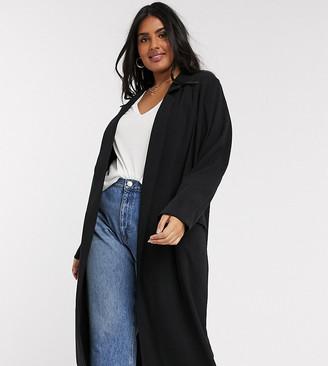 ASOS DESIGN Curve soft duster coat