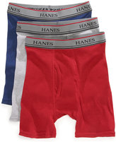 Hanes Platinum Boys' or Little Boys' 3-Pack Boxer Briefs