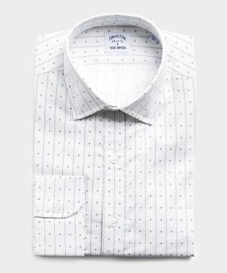 Hamilton Made in USA + Todd Snyder Geometric Print Dress Shirt