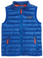 Patagonia Toddler Boy's Water Repellent Down Sweater Vest