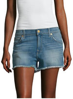 7 For All Mankind Distressed Cut-Off Short