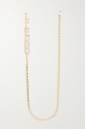 Fendi Gold-tone Sunglasses Chain