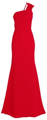 Roland Mouret One-Shoulder Gosford Gown
