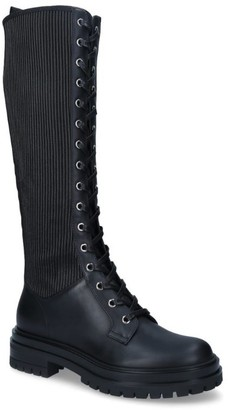 Gianvito Rossi Leather Knee-High Martis Boots 20