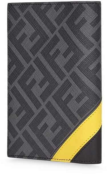 Thumbnail for your product : Fendi FF motif leather document holder