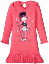 Petit Lem Rock Star Nightgown (Toddler/Kid) - Pink - 2