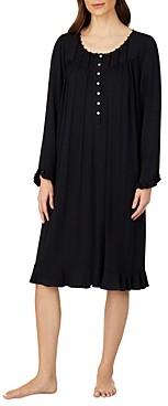 Eileen West Lace Trim Waltz Jersey Nightgown