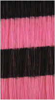 ALOXXI HairUware Clip-in Bright Stripes Pink/Black