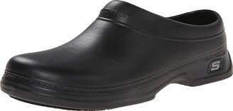 Skechers Men's Oswald Balder Slip Resistant Clog