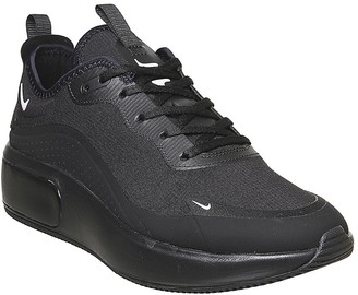 Nike Dia Trainers Black Metallic Platinum Black