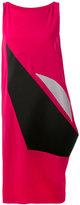 Issey Miyake asymmetric panel dress