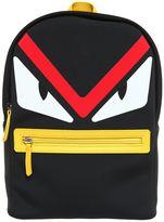 Fendi Monster Printed Neoprene Backpack