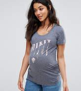 Mama Licious Mama.licious Mamalicious Spirit Printed T-Shirt