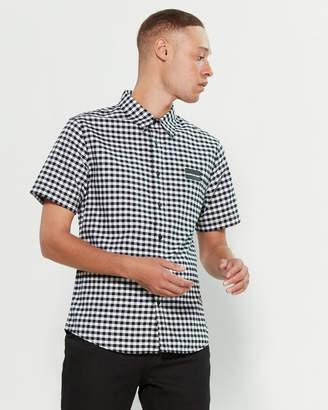 Calvin Klein Jeans Gingham Short Sleeve Sport Shirt