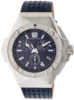 Morphic Men's M55 Series Stainless Steel Blue Dial Watch, 52mm