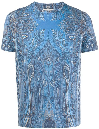 Etro relaxed-fit paisley T-shirt