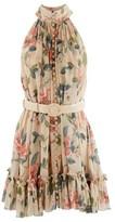 Zimmermann Kirra short silk dress