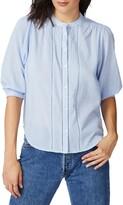 Court & Rowe Clip Dot Short Sleeve Cotton Shirt