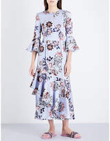 Erdem Florence floral silk dress