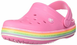 Crocs Unisex Kid's Crocband Rainbow Glitter Clogs