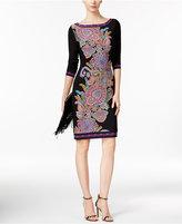 INC International Concepts Paisley-Print Sheath Dress, Only at Macy's
