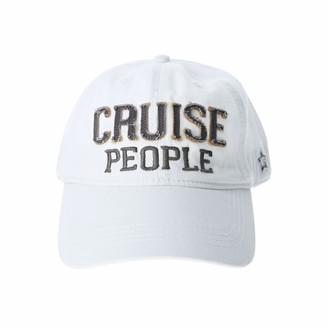 Pavilion Gift Company Cruise People-White Adjustable Snapback Baseball Hat