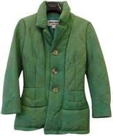 Junya Watanabe Green Wool Coat for Women Vintage