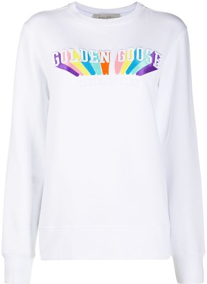 Golden Goose Embroidered-Logo Cotton Sweatshirt
