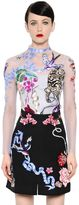 Temperley London Nautical Tattoos Hand-Embroidered Top