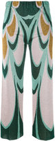 Circus Hotel knitted cropped trousers - women - Polyester/Viscose - 40