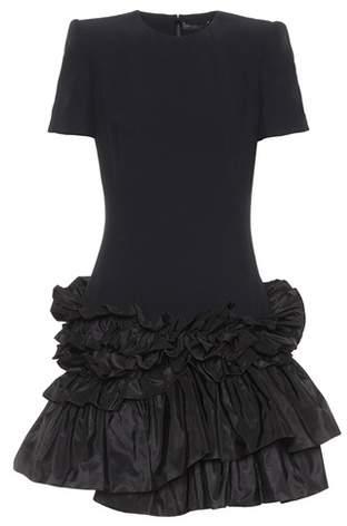 Alexander McQueen Tiered ruffle-skirt dress