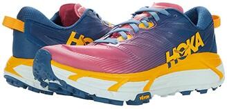 Hoka One One Mafate Speed 3 (Moroccan Blue/Saffron) Women's Shoes