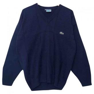 Lacoste Blue Cotton Knitwear for Women