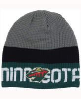 Reebok Minnesota Wild Player Knit Hat