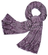 Tory Burch Castille-Print Oblong Scarf