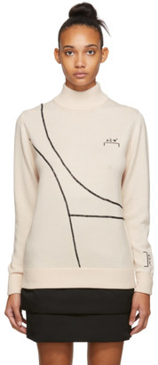 A-Cold-Wall* Beige Merino 3D Sweater